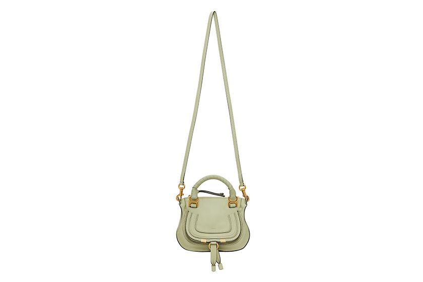 Chloe Pistachio Green Handbags 2020 summer SSENSE
