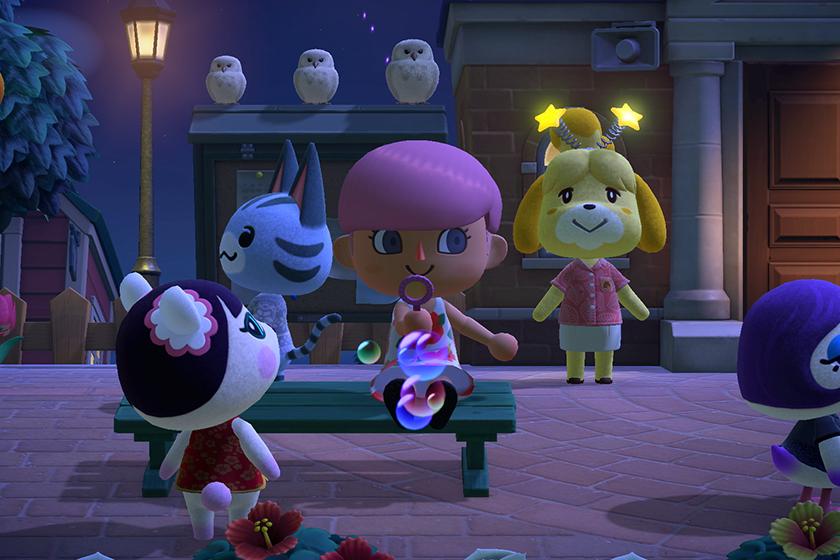 Nintendo Switch Animal Crossing New Horizons 2020 summer new update