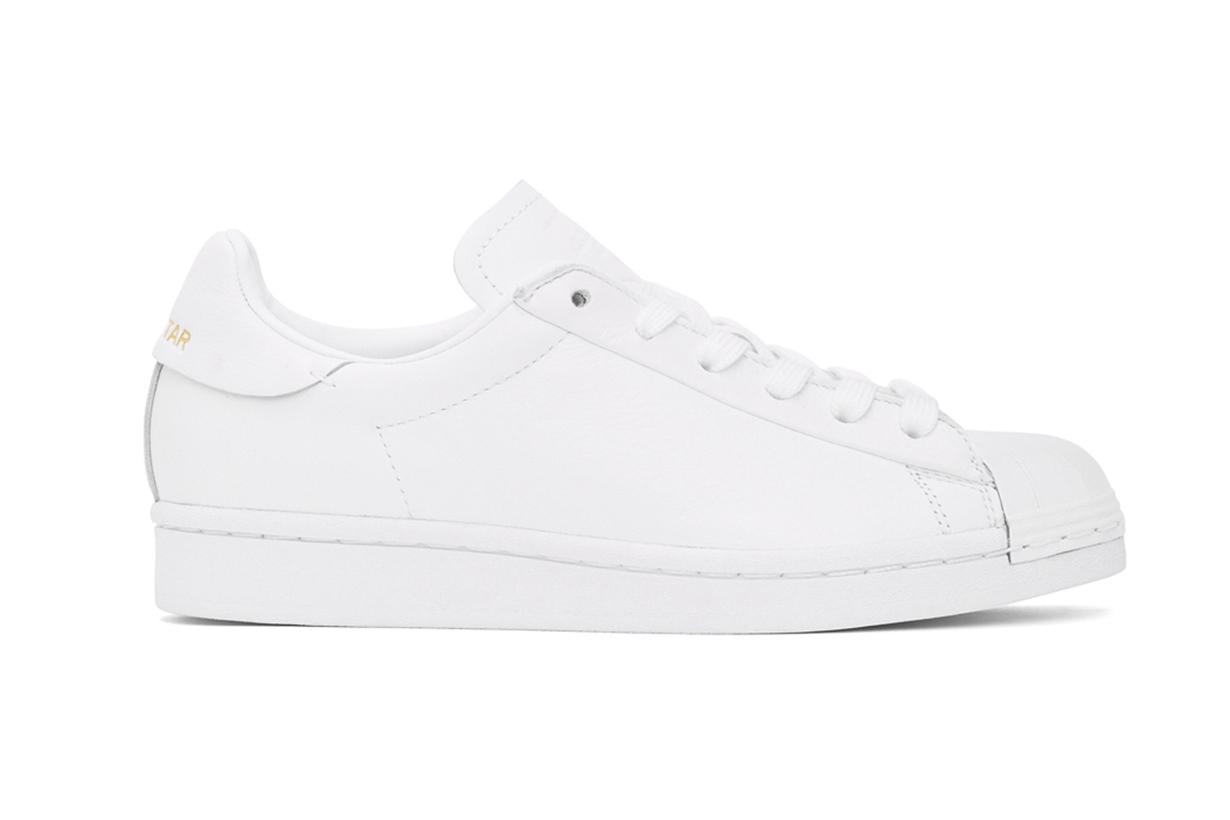 adidas Originals White Superstar Pure Sneakers