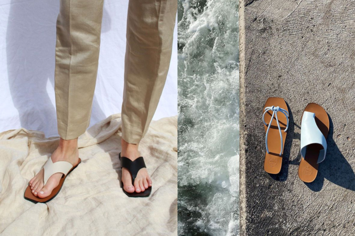 Indie Brand Leather Sandals