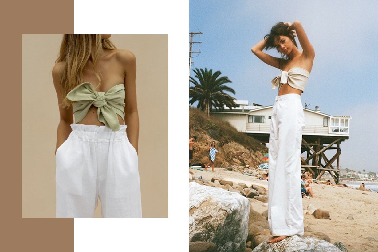 Tube Top Summer Wear