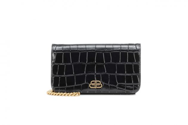 balenciaga clutch wallet with on chain 2020