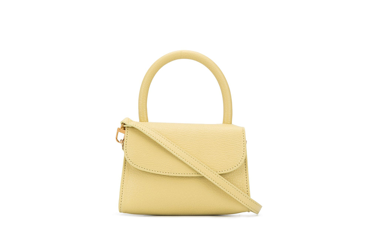 Best Light Yellow Handbags 2020 Summer By Far Loewe Prada Wandler Yuzefi Celine Bottega Veneta Jil Sander Gucci Shrimps