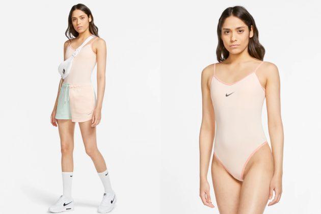 nike bodysuit swoosh new color basic 2020 summer