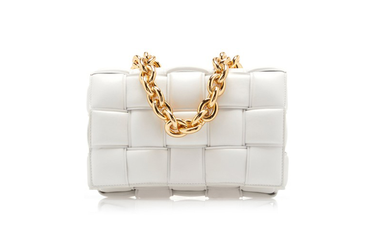 Bottega Veneta The Chain Cassette Padded Leather Crossbody Bag