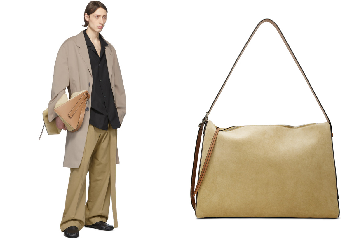 Brown & Tan Large Berlingo Bag
