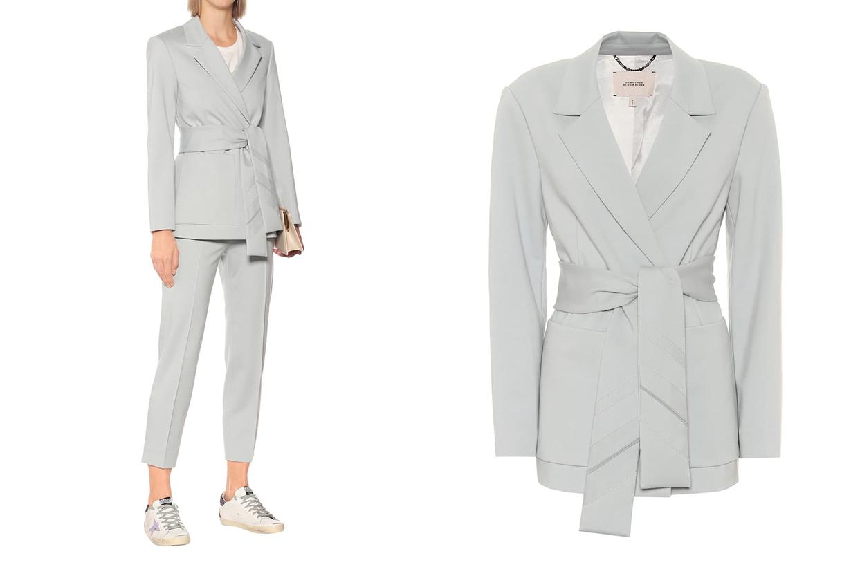 DOROTHEE SCHUMACHER Sash-belted blazer