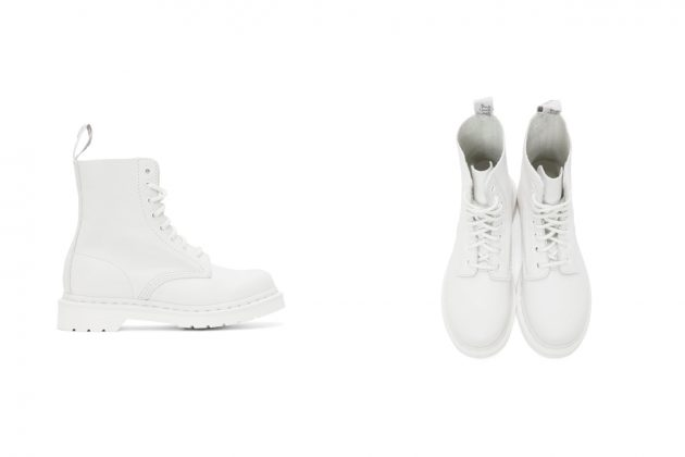 dr. martens all white 1460 boots where buy price