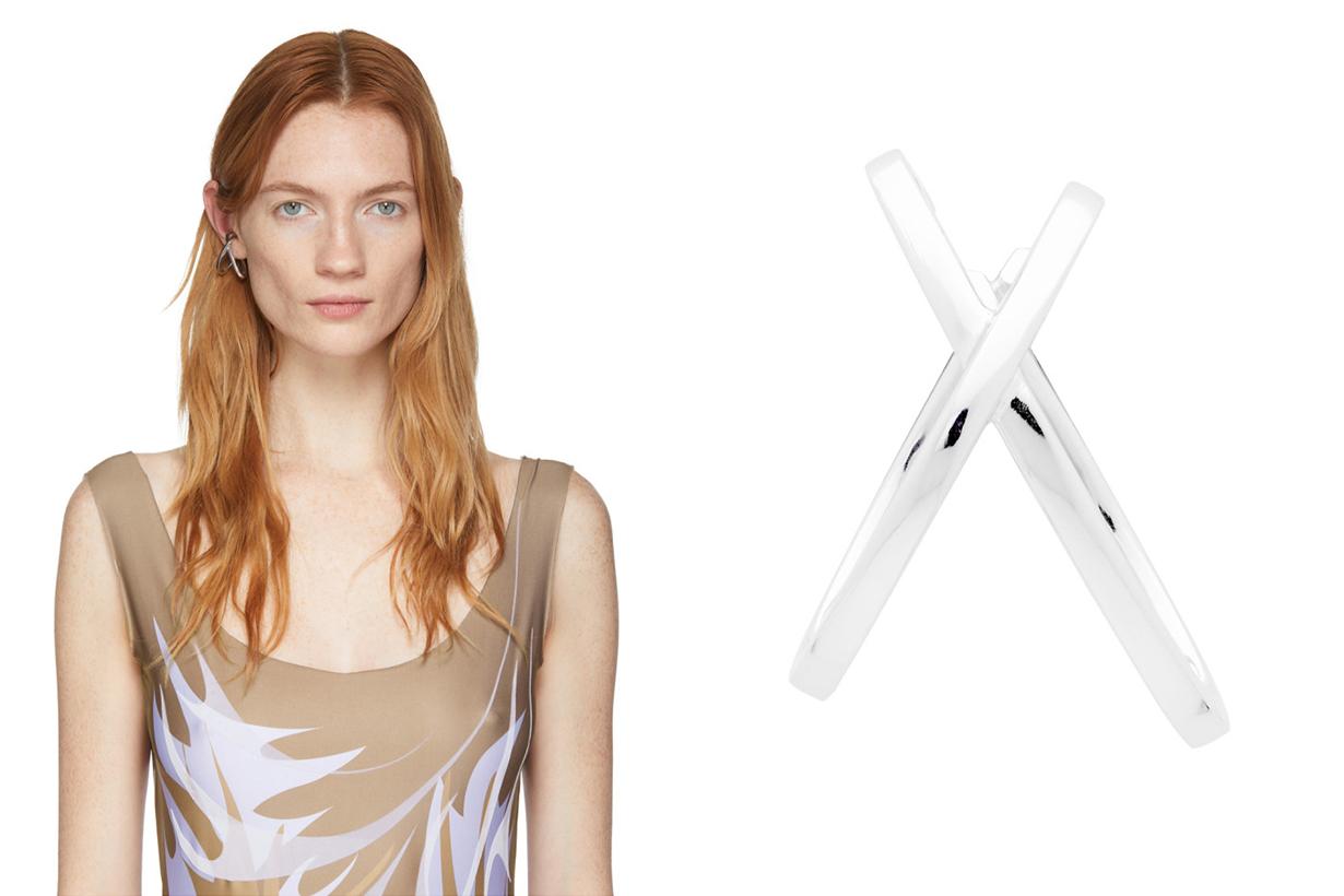 Ear Cuff trend 2020 Summer Jewelry Earrings Style CHARLOTTE CHESNAIS ALAN CROCETTI ANNE MANNS SASKIA DIEZ PORTRAIT REPORT VERSACE FENDI