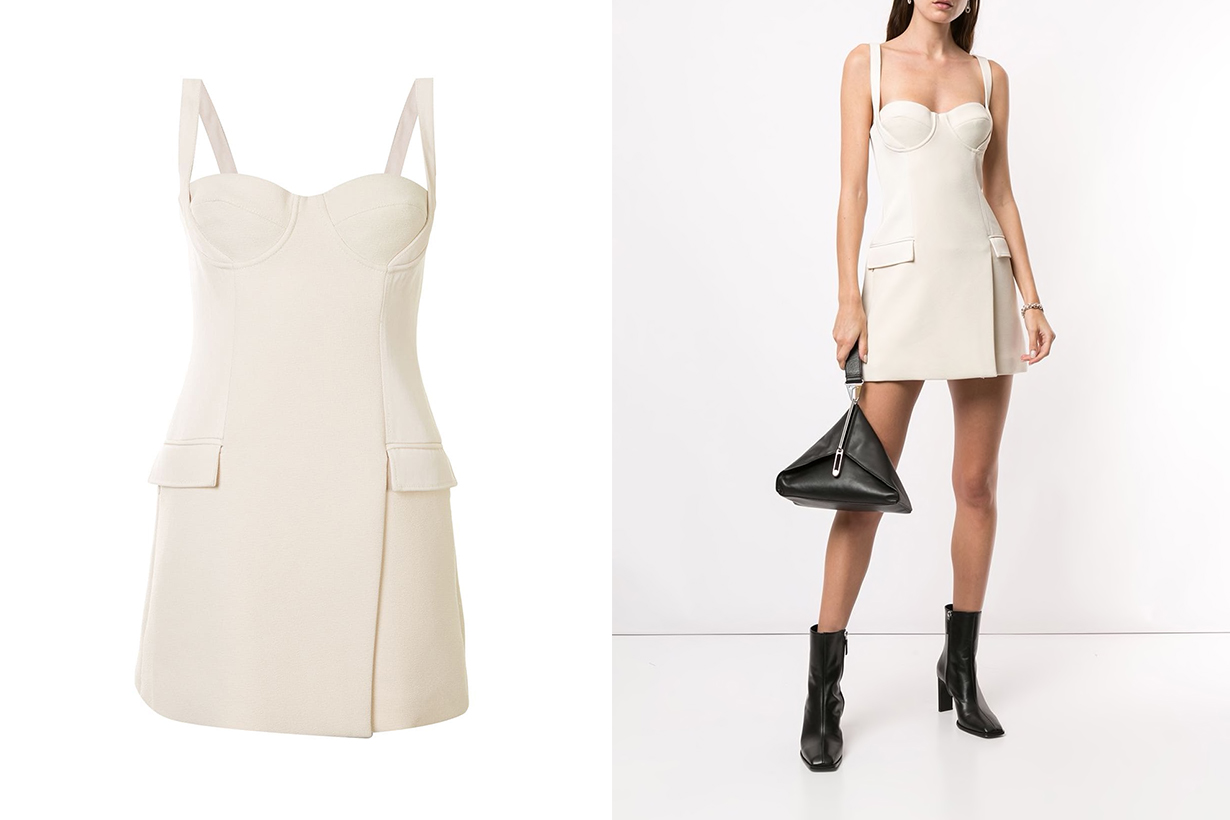 Dion Lee Corset Tank Top Minimalist style instagram fashion blogger