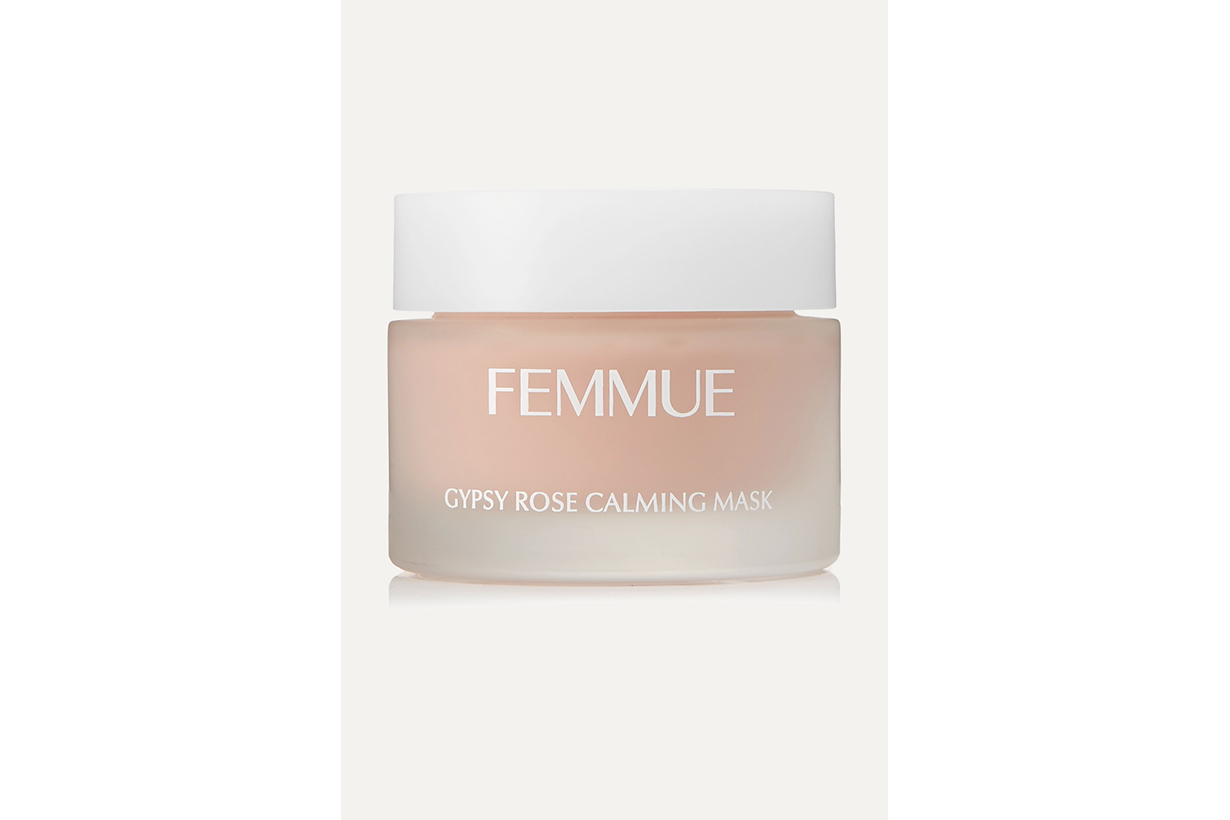 Femmue Rose Night Mask Damask Rose Moisturising Calm Skin Sensitive Skin Korean Skincare