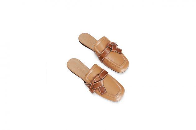 loewe gate mules flat perfect summer shoes