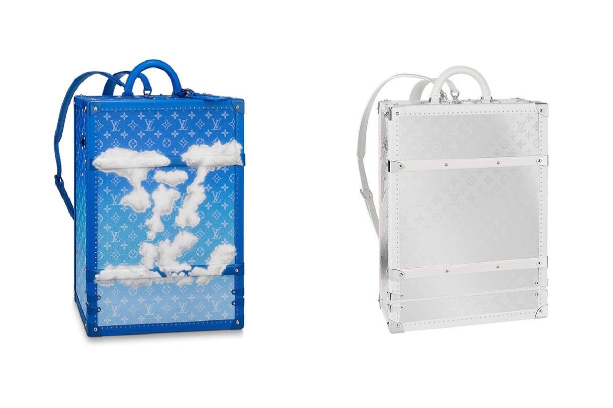 Louis Vuitton backpack trunk Monogram Mirror handbags