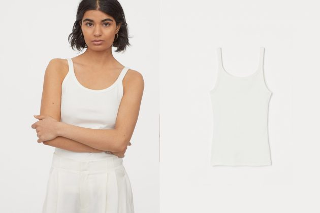 H&M basic t-shirt top wear where buy essential