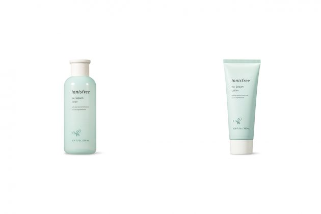 innisfree no sebum powder lotion toner new skincare 2020