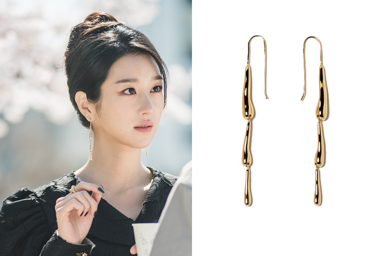 It's Okay to not be Okay Seo Yea Ji Kim Soo Hyun Netflix tvN Drama Korean Drama Styling MANI E PIED SUBYUL GOIU CARTIER HYÈRES LOR  earrings accessories jewelry korean idols celebrities actresses