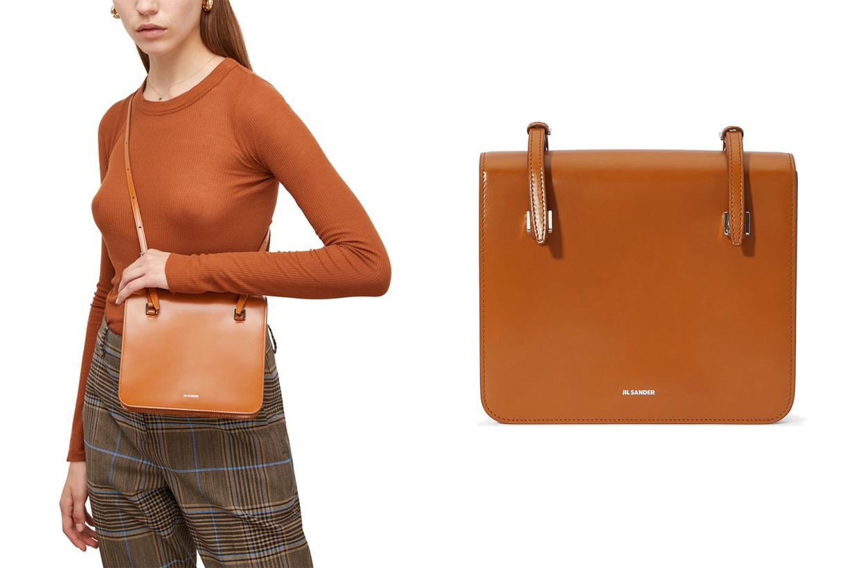 JIL SANDER Small Holster shoulder bag