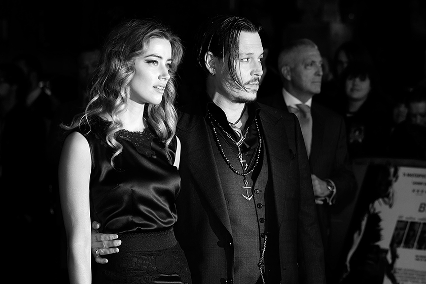 Johnny Depp Amber Heard divorce VIOLENCE