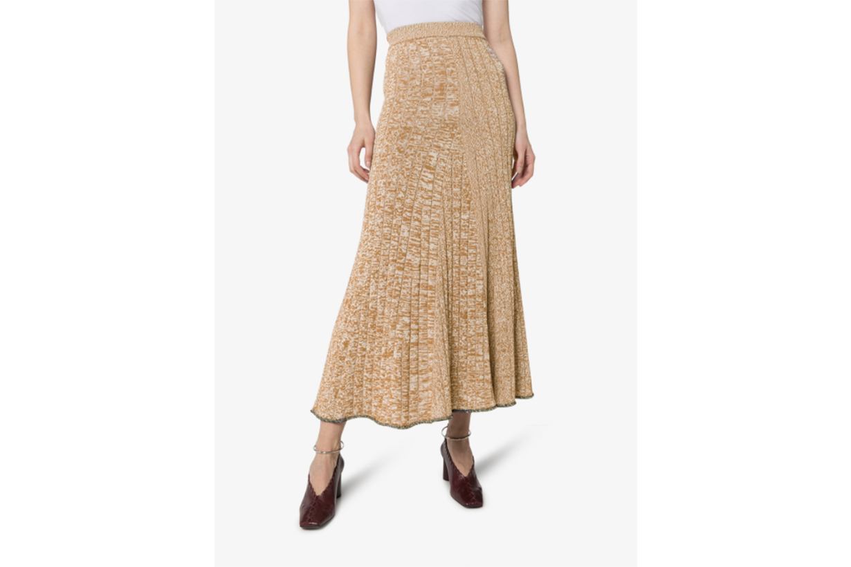 Joseph Sally Ribbed Knit Midi Skirt