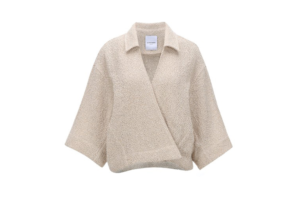 Le17 Septembre Wrap-Effect Knit Cardigan