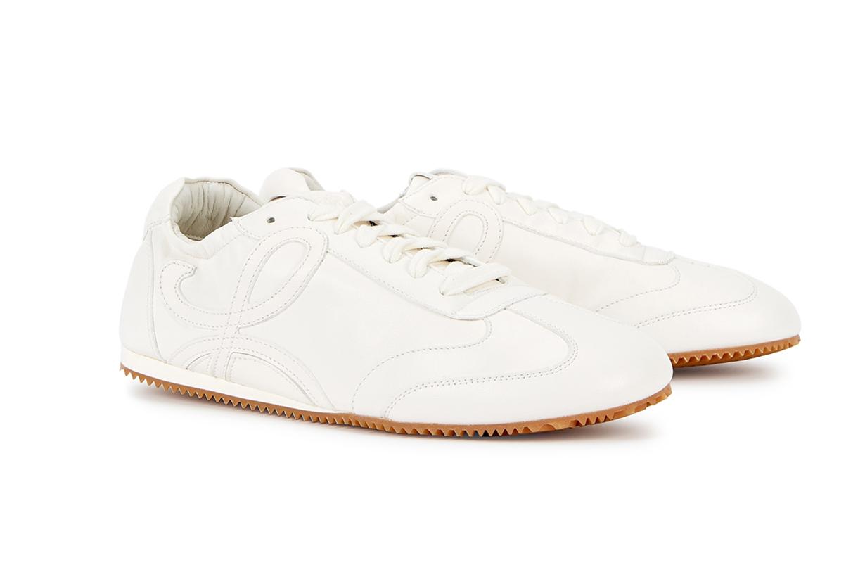 LOEWE Ballet Runner white leather sneakers