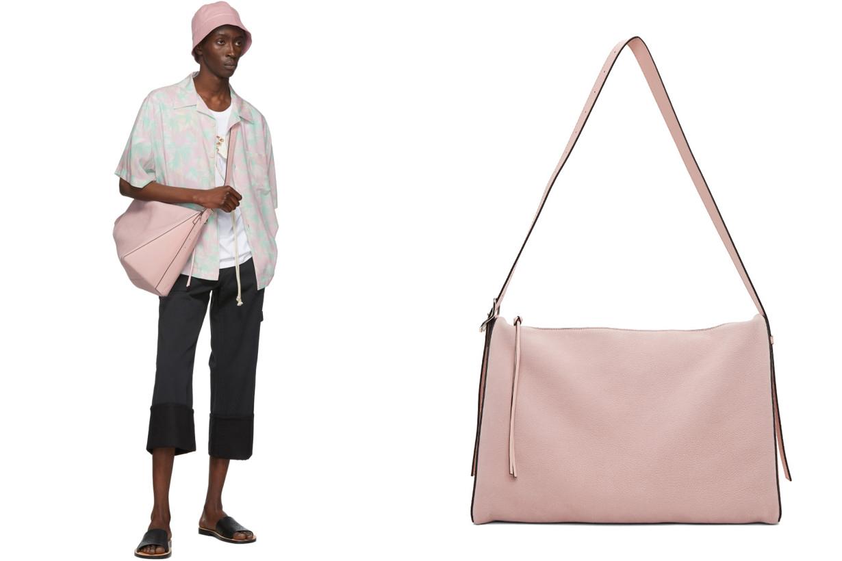 Loewe Pink Large Berlingo Bag