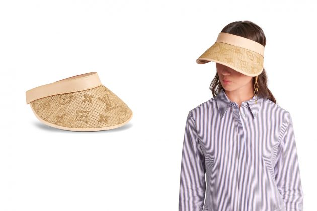 louis vuitton straw hat 2020 monogram summer