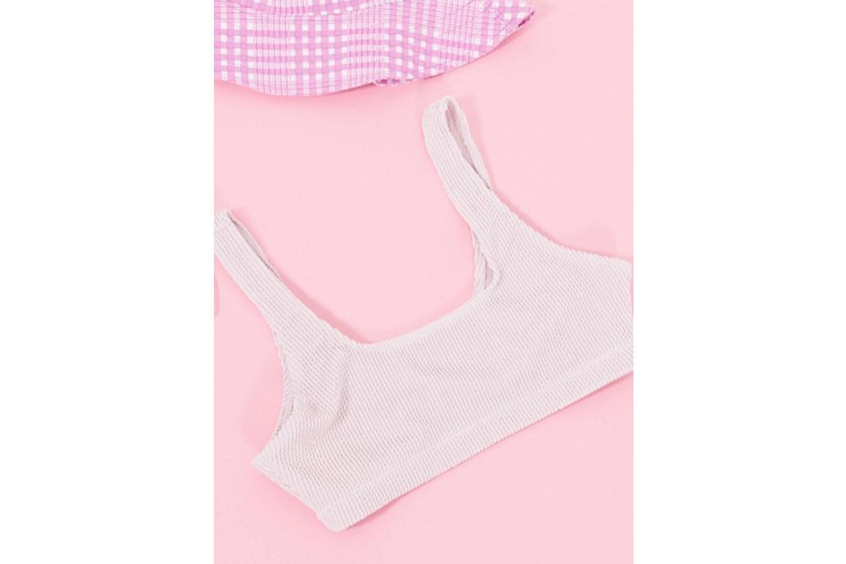 Monki Maj-Lis pink bikini set