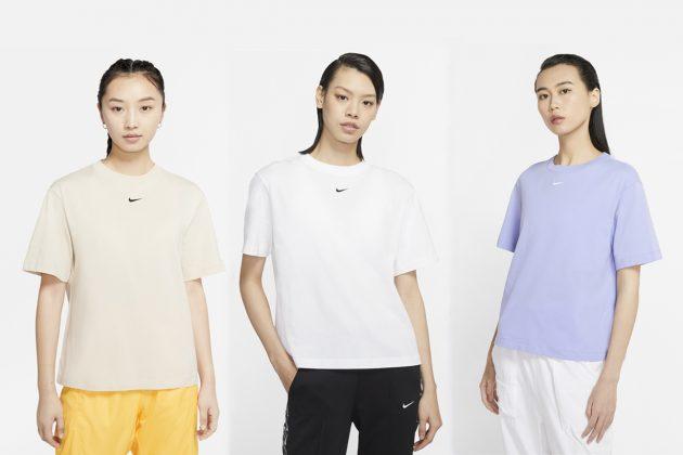 nike swoosh basic logo essential t-shirt taiwan hk where buy 2020