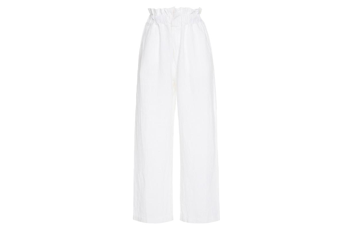 Posse Ducky Elastic Waist Linen Pants