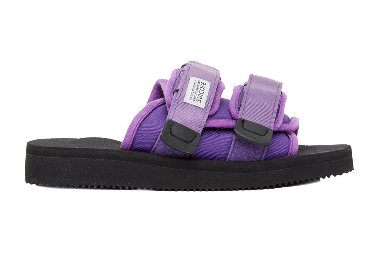 Purple MOTO-Cab Sandals