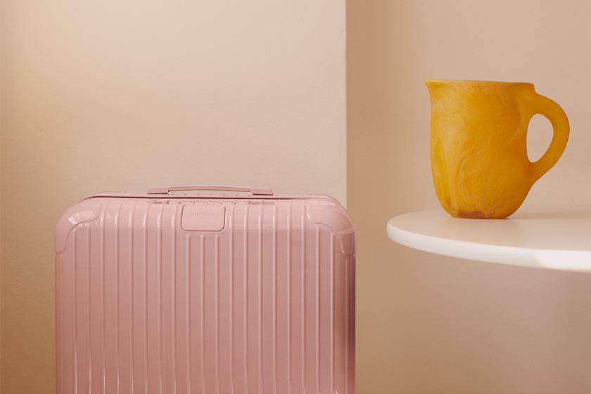 RIMOWA Essential Desert Rose Cactus suitcase