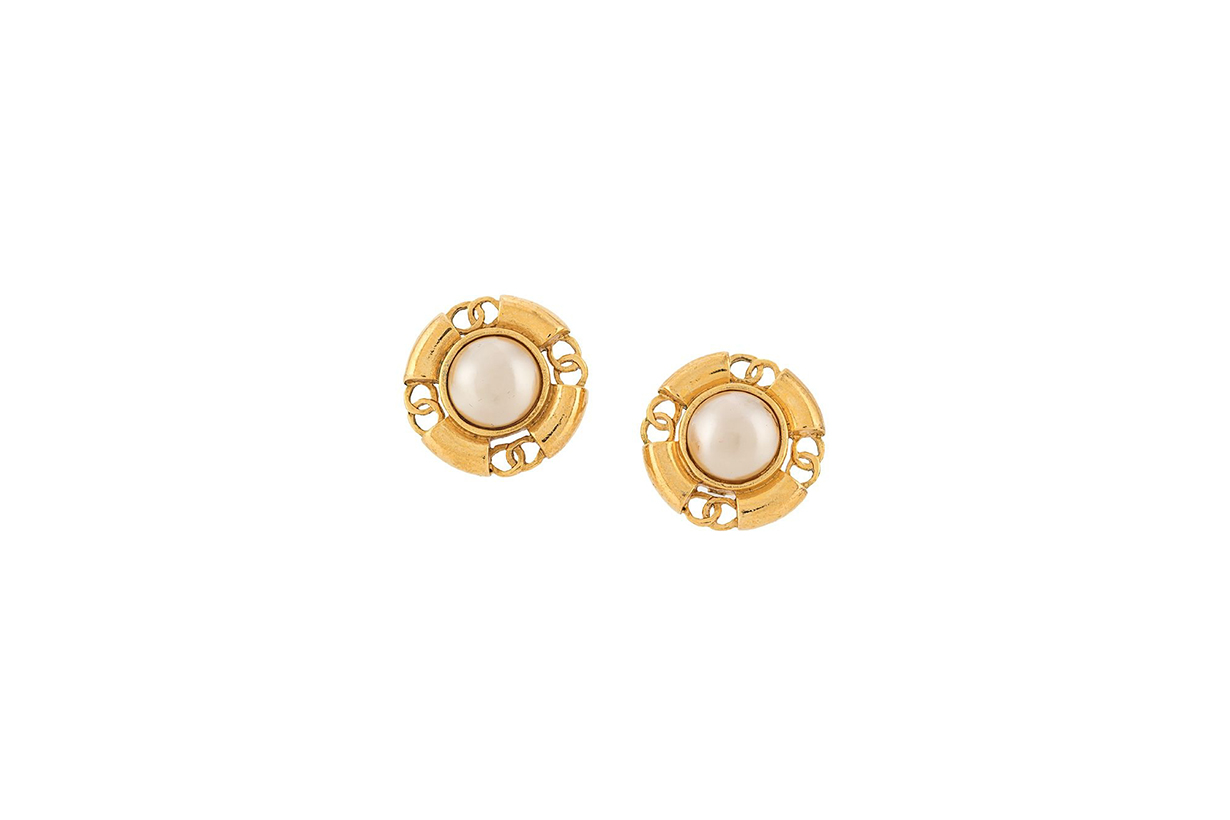 chanel vintage earrings accessories