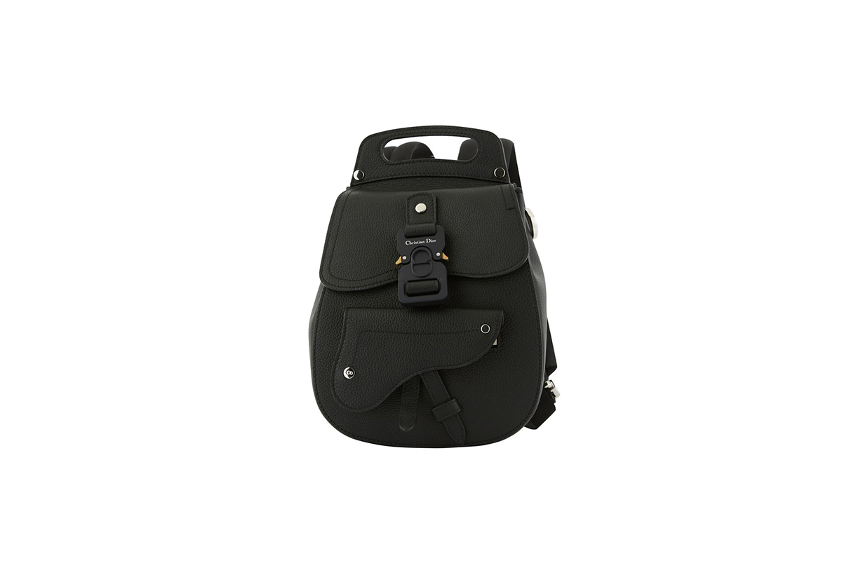 dior saddle backpack in calfskin release