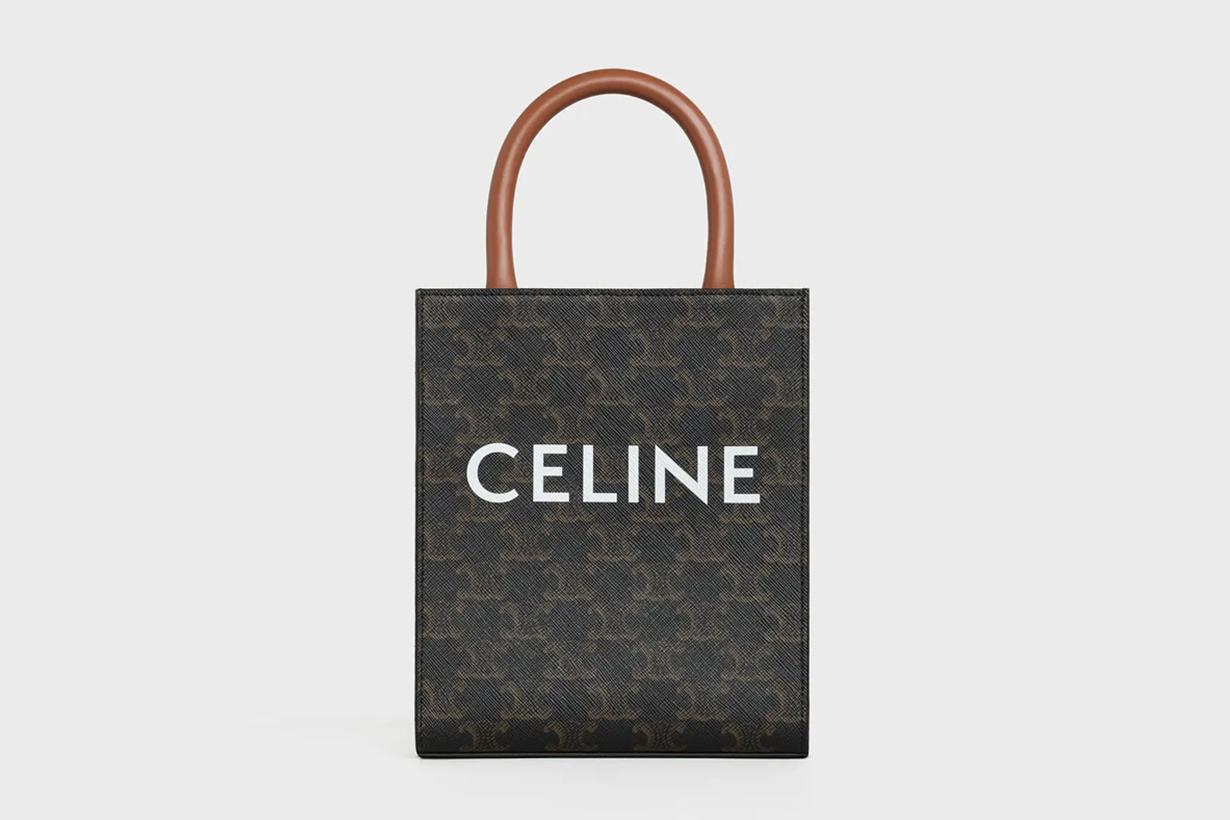 celine triomphe canvas handbags bags Céline Vipiana