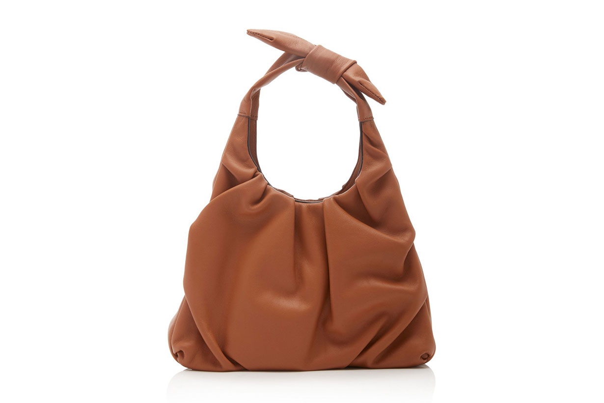 Staud Mini Island Leather Tote