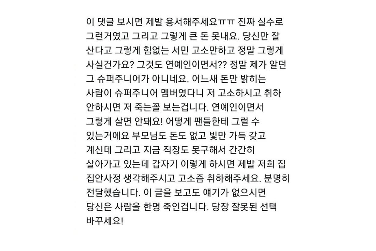 Heechul Kim Super Junior Sued Haters Internet Sulli Choi Jin Ri Goo Hara IU Lee Ji Eun Korean idols celebrities singers