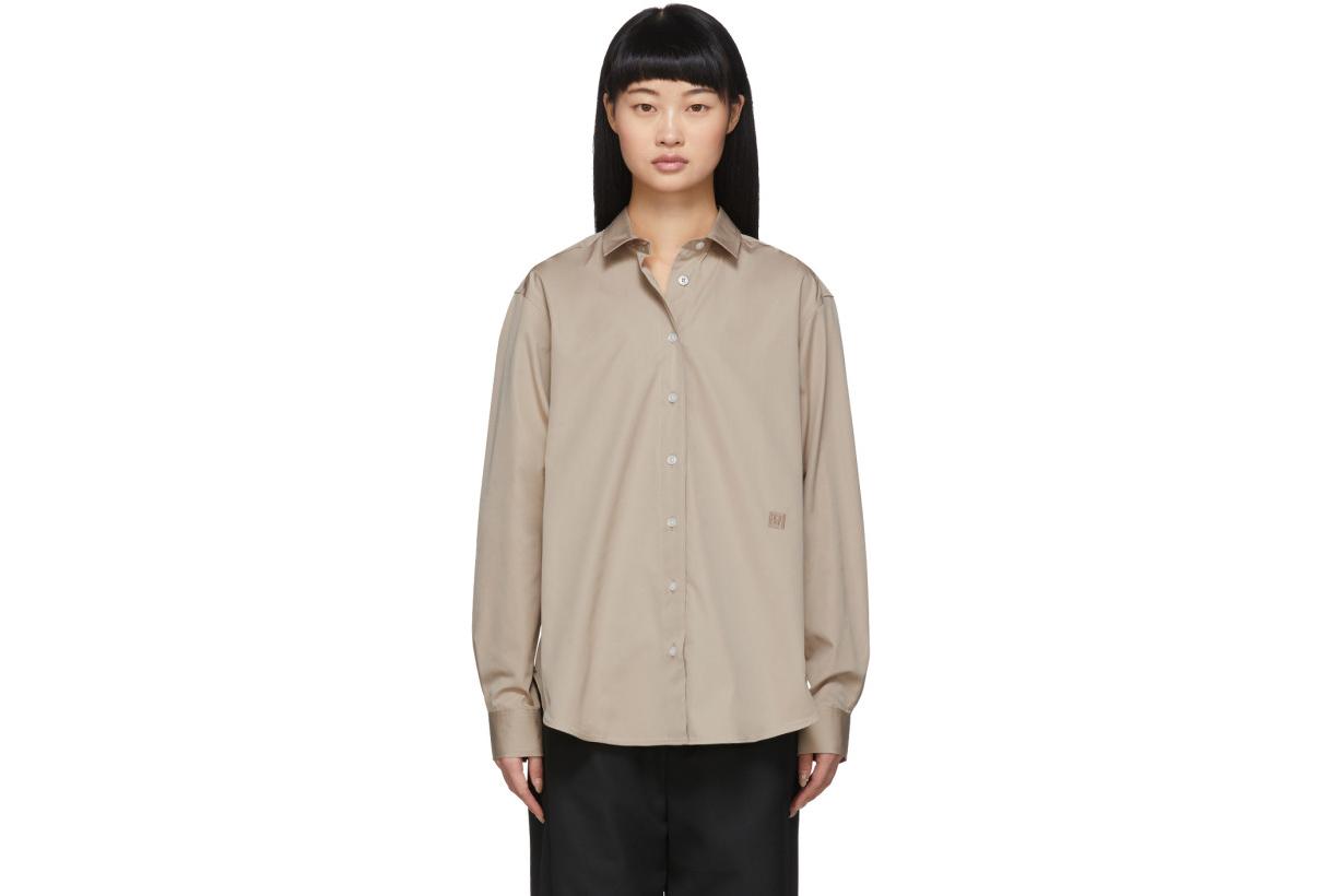 Totême Tan Capri Shirt
