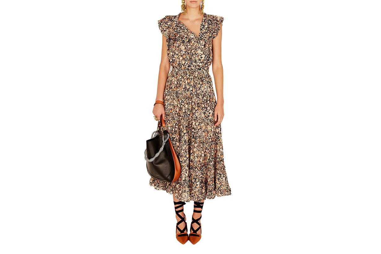 Ulla Johnson Kiri Sleeveless Midi Dress