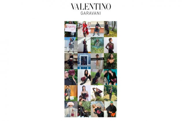valentino 2021 aw campaign charity