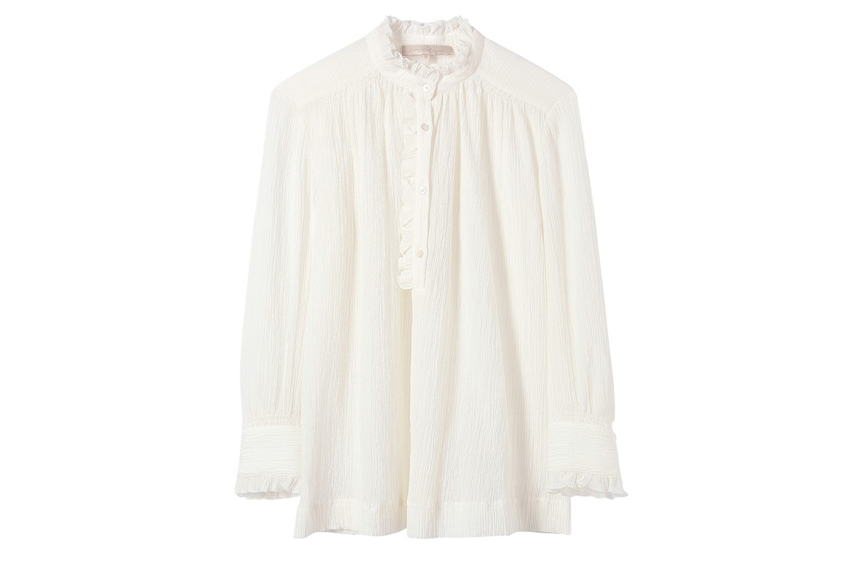 VANESSA BRUNO Cotton and silk Nina blouse