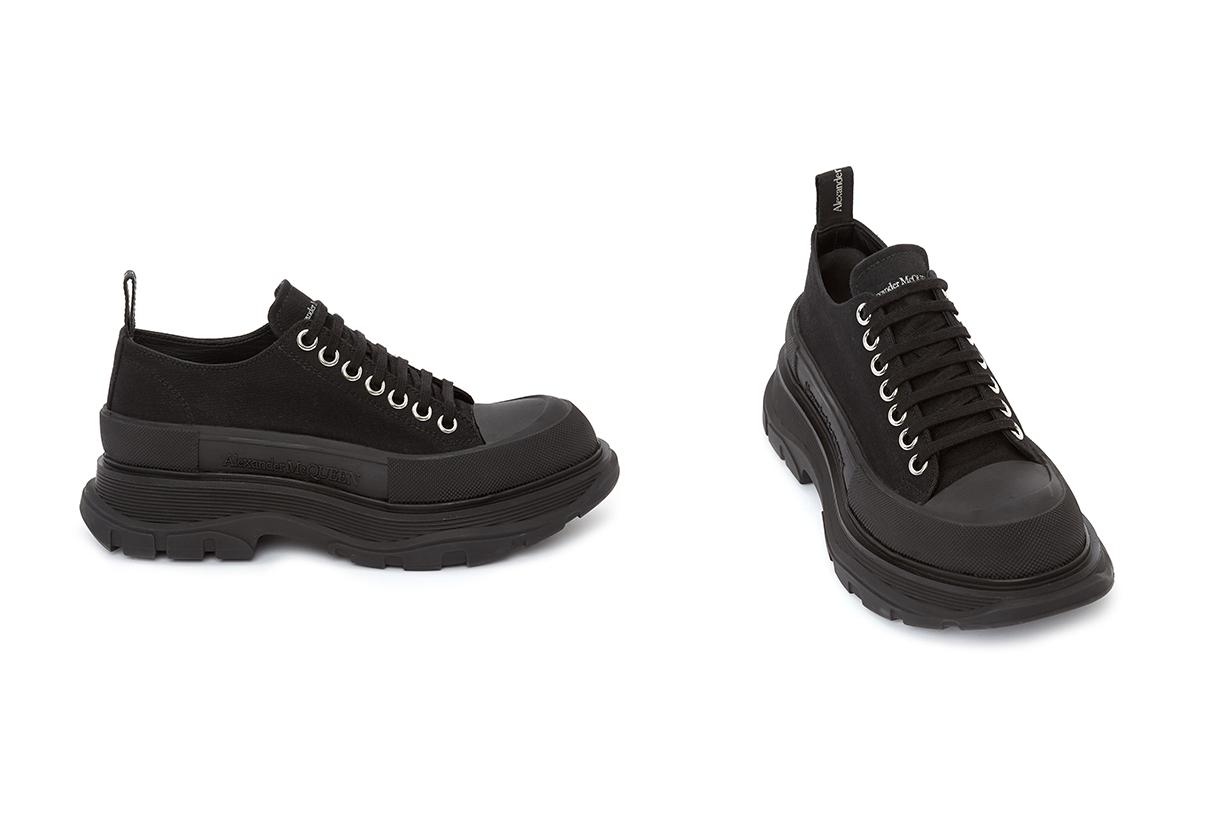 Alexander mcqueen tread slick sneakers shoes boosts