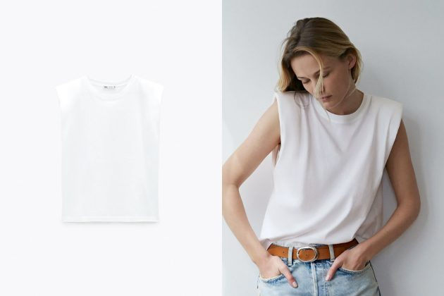 shoulder pads t-shirt tank top summer 2020 essential