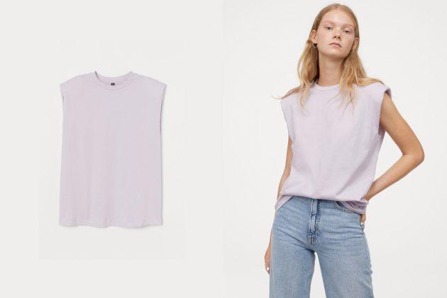 shoulder pads t-shirt tank top summer 2020 essential