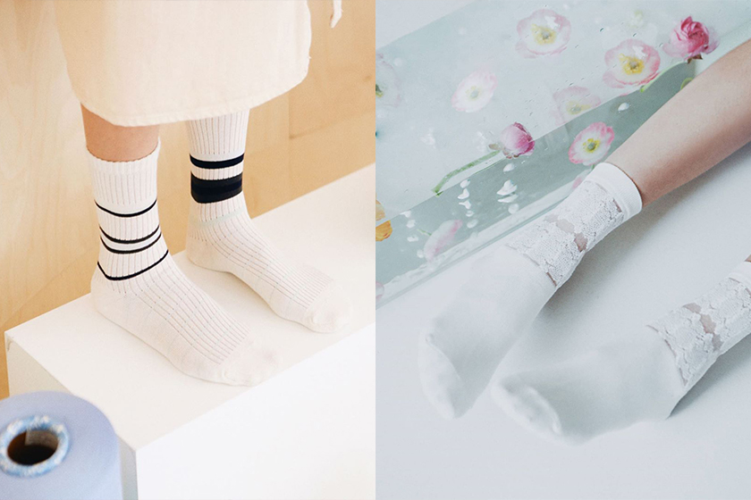 BLACKPINK Jennie 24365 i hate monday socks