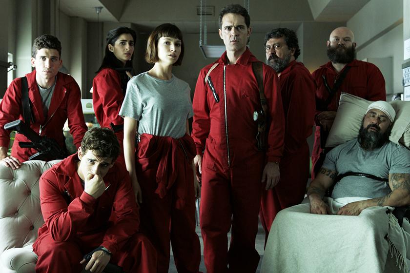 Netflix La casa de papel Season 5