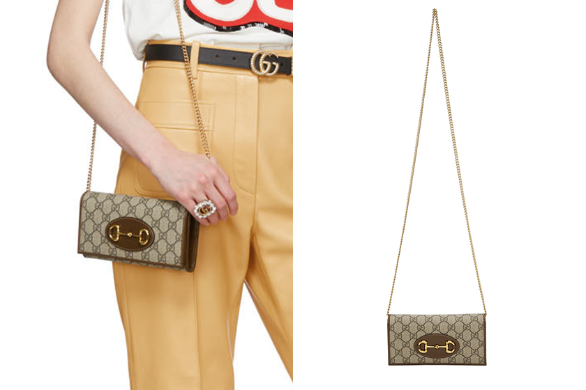 Gucci GG Mar­mont 1955 Horsebit Handbags