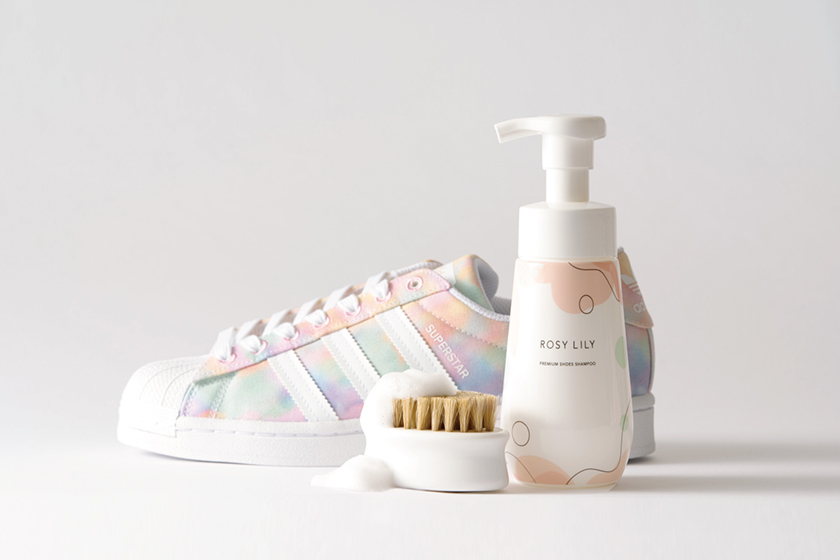 Rose Lily Shoes Shampoo Sneaker Cleaning