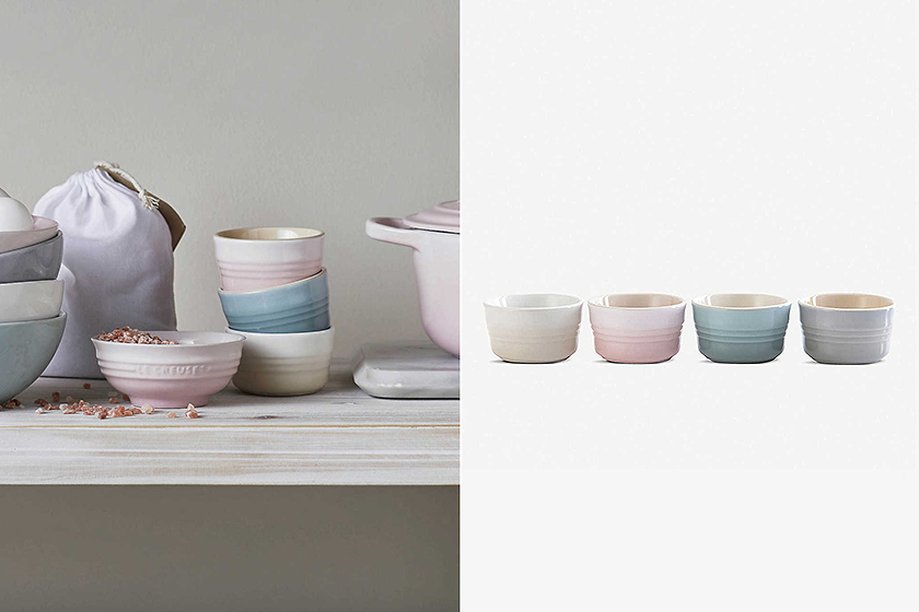Le Creuset Home and Living pink Tableware