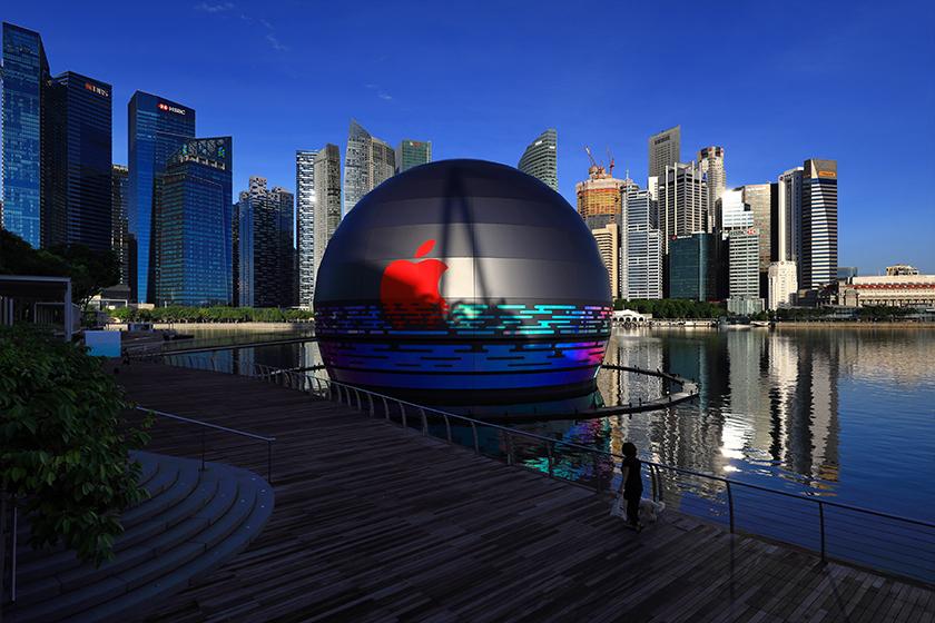 Singapore Marina Bay Sand Apple Store Opening